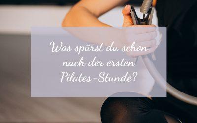 Deine fünf Aha-Momente! Oder: Was spürst du schon nach der ersten Pilates-Stunde?