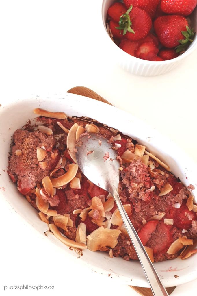 Erdbeerporridge