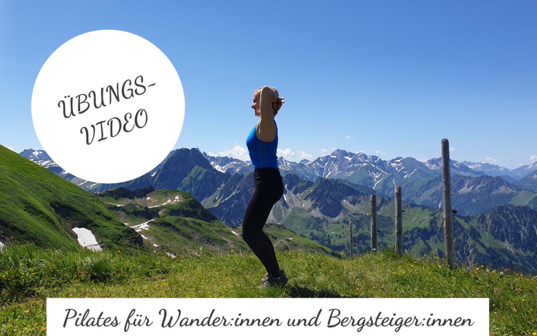 Pilates-Übungen für Wander:innen und Bergsteiger:innen
